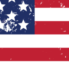 Flag of USA Sticker