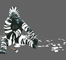 Gorillebra - The Gorilla Who Wanted to be a Zebra by Carl Moore