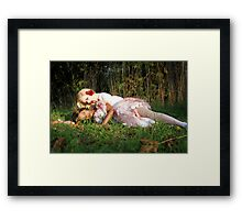 A Successful Hunt Framed Print