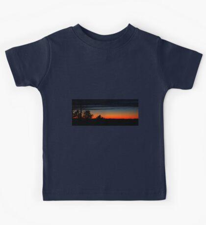 0102 - HDR Panorama - Sunset 2 Kids Tee