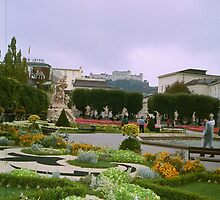Gardens in Vienna, Austria by Ann Palmieri