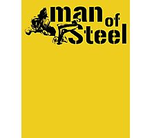 Man of Steel Photographic Print