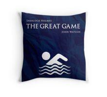 BBC Sherlock - The Great Game Throw Pillow