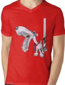 Leashed Mens V-Neck T-Shirt