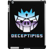 Deceptipigs iPad Case/Skin