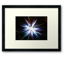 Magic Light ! Framed Print