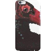 Vulture Head Transparent Background iPhone Case/Skin