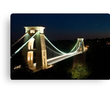 Clifton Suspension Bridge - Bristol, England Canvas Print