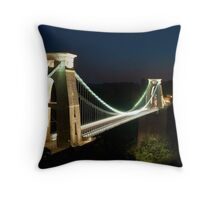 Clifton Suspension Bridge - Bristol, England Throw Pillow