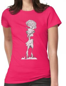 Alien Blow Up Doll  Womens Fitted T-Shirt