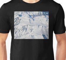 alps aerial view Unisex T-Shirt