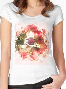 Photographer 3 Women's Fitted Scoop T-Shirt