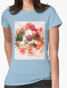 Photographer 3 Womens Fitted T-Shirt