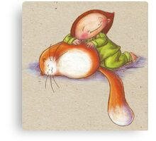 Poes Soes Canvas Print