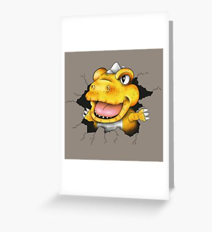 The jurassic pest Greeting Card