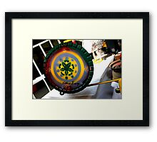 Signature Cap Framed Print