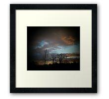 February Sunset (2) Framed Print