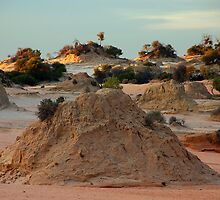 Lake Mungo Lunette by Peter Hammer