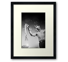 HELL - David Bower Framed Print