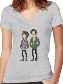 The Mighty Boosh Season 1 Women's Fitted V-Neck T-Shirt