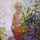 Child with Fish  by Moira  McClaren