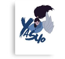 Yasuo minimal design Canvas Print