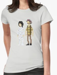 Mighty Boosh Season 2 Pixel-art Womens Fitted T-Shirt