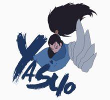 Yasuo minimal design by Corey Worthington