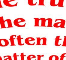 Truth in Law? Sticker