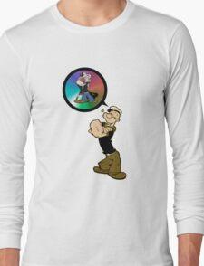 Popeye and Olivia 2 Long Sleeve T-Shirt