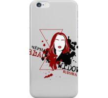 Chornaya Vdova iPhone Case/Skin