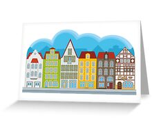 Small houses Greeting Card