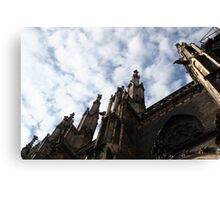 clouds and spires Canvas Print
