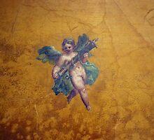 roman fresco by kristana
