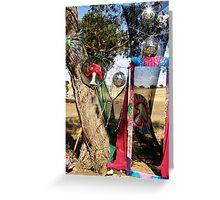 PSYFLECTIVE FAIRY : RAINBOW SERPENT FESTIVAL '08 : Decor & Installations Greeting Card