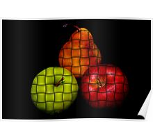 3 Fruits Poster