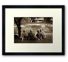 mennonites and wedding Framed Print