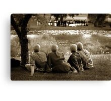 mennonites and wedding Canvas Print