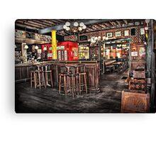 Belgian Beer Cafe Adelaide Canvas Print