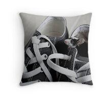 Eek Throw Pillow