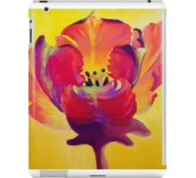 Red and Yellow Flame iPad Case/Skin