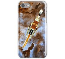Two Galactic Cruiser/Fighters at NGC 3372  iPhone Case/Skin