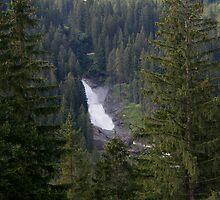 Krimml Waterfall by Segalili