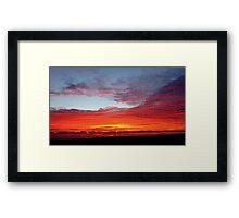 Morning Colours Framed Print
