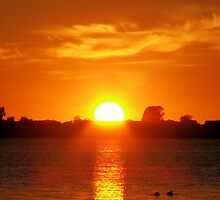 Mulwala Sunrise by Joanne Byron