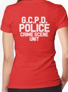 Gotham City Police Department - Batman Women's Fitted V-Neck T-Shirt