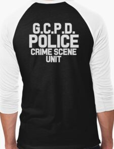 Gotham City Police Department - Batman Men's Baseball ¾ T-Shirt