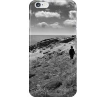 My sister and doggy - Photography iPhone Case/Skin