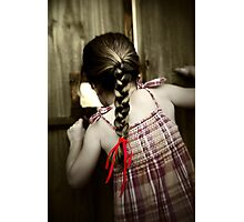 Red Ribbon... Photographic Print