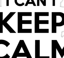 I cant keep calm Im a WAHL Sticker